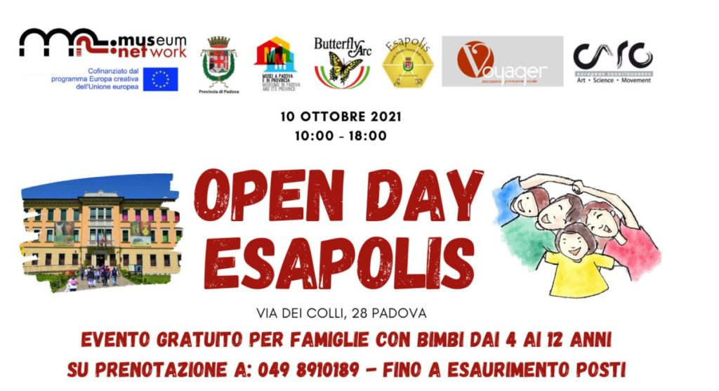 the new poster of the open day